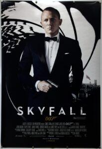 Skyfall Advance UK One Sheet