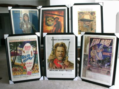 How to Frame Movie Posters